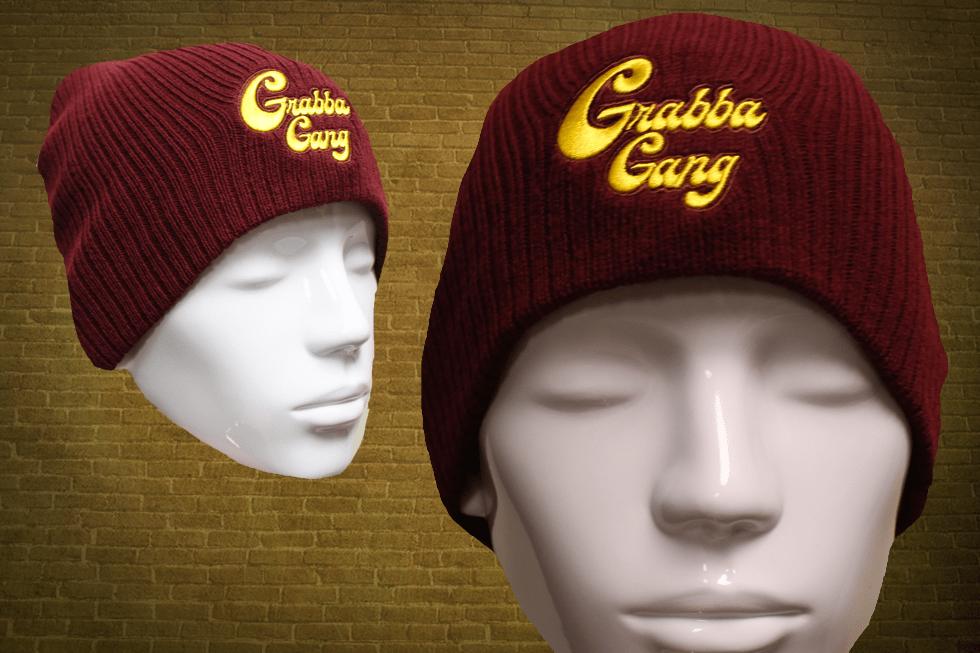Maroon Grabba Gang Hat