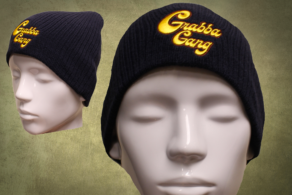 Navy Blue Grabba Gang Hat